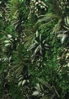 Artificial wall plants decorations