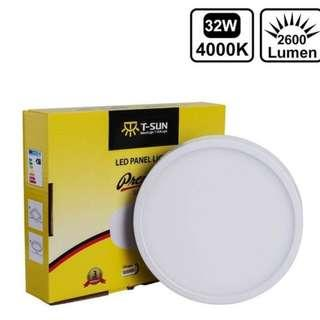 T-SUN 32W Surface Mounted LED Ceiling Lights AC85-265V Round Square LED Downlight