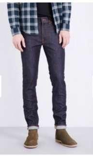Preloved GU basic jeans men