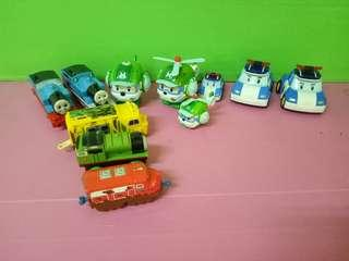 Bundle of Robocar And Thomas and friends