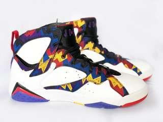 Air jordan 7 retro white/ unvrsty RD-blk-brght CNC