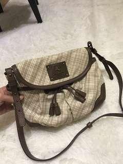 Burberry blue label sling bag (authentic)