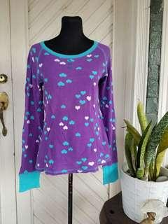 Imported Purple (HEARTS) Sweater