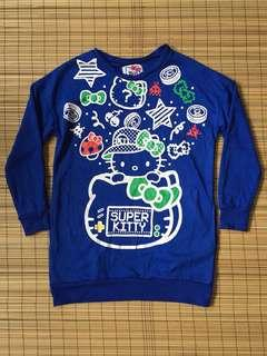 Hello kitty pull over with side pockets