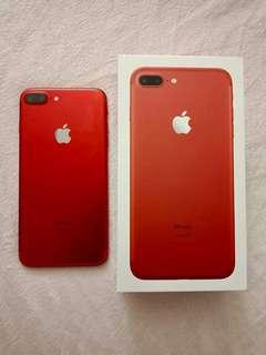 iPhone 7 Plus 256gb - Red Limited Edition