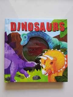 Dinosaurs Animotion book