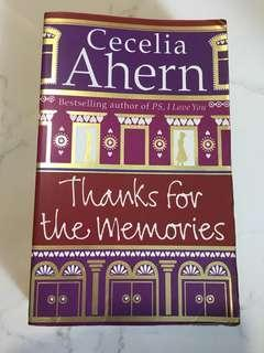 Cecelia Ahern - Thanks for the Memories
