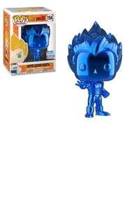 Vegeta blue chrome Funko Pop