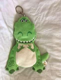 抱抱龍 伸縮票卡夾/零錢袋 REX 恐龍票卡夾