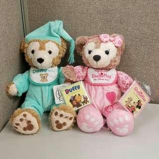 【五九折】(一對)香港迪士尼樂園 My first Duffy Bear 及 My first ShellieMay