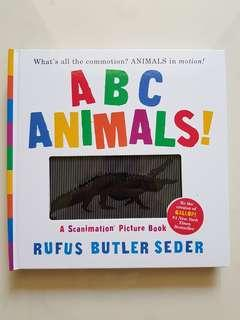 ABC Animals ! A Scanimation picture book
