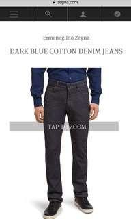 Ermenegildo Zegna Cotton Denim Jeans