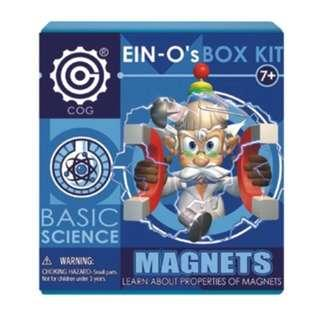 Basic Science - EIN-O's BOX KIT ~ Magnets - Learn about Properties of Magnets