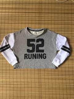 Crop pull over