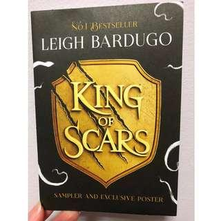 [Trade Only] King of Scars Sampler & Exclusive Poster (FairyLoot)