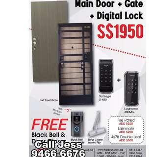 HDDoor the promotion