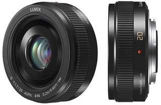 Panasonic lumix 20mm f1.7