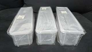 廚房 塑膠 密封盒 筷子盒 意大利麵盒 餐具 收納盒