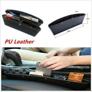 PU Leather Car Seat Gap Pocket Holder NKT06
