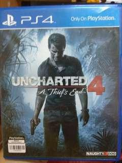 PS4 Ganes - PS4 Uncharted 4