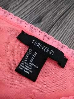 Forever 21 Laced Tube Top