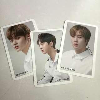 Wanna One Mobifren Photocards