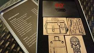 Tumi 40th Anniversary Wooden Stamp Boxset