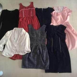 EUC Women's Dresses (7pcs)