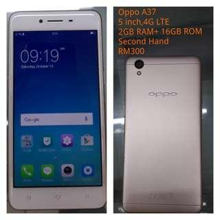 Oppo A37 Second hand
