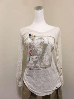 🚚 波希米亞薄長袖上衣 #十月女裝半價