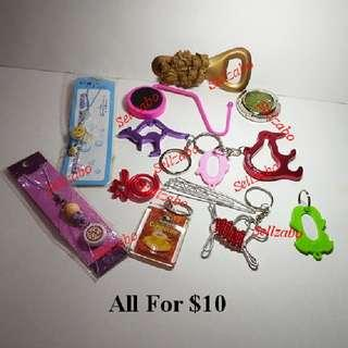 $10 For All ≈ 12 Pieces Bundle Miscellaneous Misc