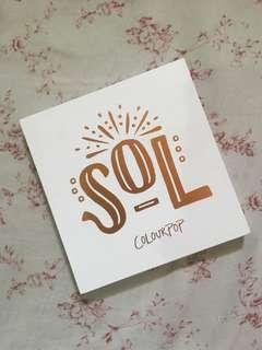 Colourpop SOL Eyeshadow Palette
