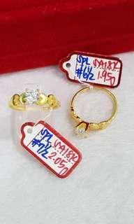18K Engagement Ring