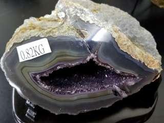 烏拉圭小紫晶洞/錢袋