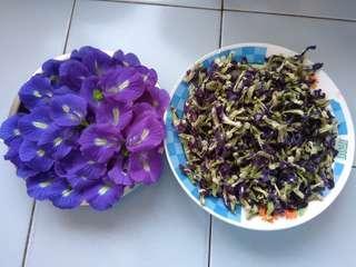Butterfly Pea Flowers (dry 4 gram)