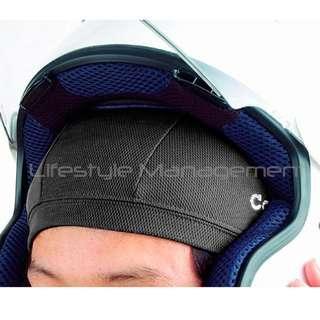 2 Pcs Motorcycle/Bicycle Helmet Sweat Absorbent Breathable Mesh Skull Cap Fast Drying Wicking Bike Helmets Liner Bike