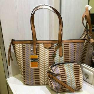 Tas Fossil ZigZag Free Pouch