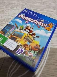 PS4 game: Overcooked 2