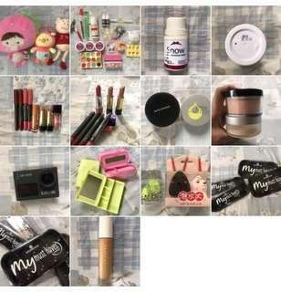 Makeup Items and More!