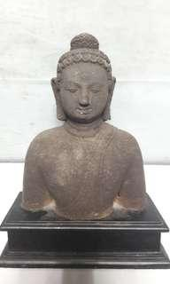 Buddha Stone Crafted - 26cm with base