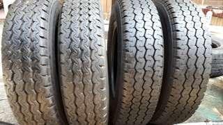 彰化員林 中古輪胎 二手輪胎 155 13c 貨車胎實體店面免費安裝