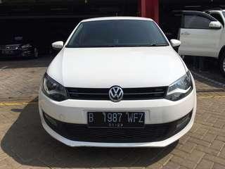 VW Polo 1,4 AT Putih 2012 km 55,000