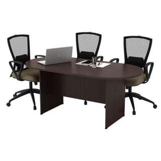 NEW 6 feet OVAL MEETING/CONFERENCE TABLE