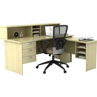 NEW 5feet RECEPTION TABLE FULL SET(WITHOUT CHAIR)