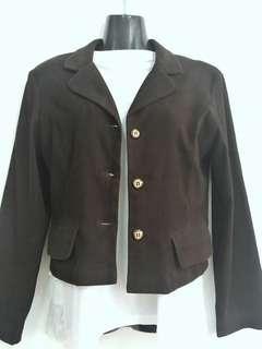Suede Brown Coat Original