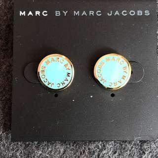 Marc by Marc Jacobs Earrings Baby blue/Gold 粉藍拼金色耳環