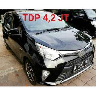 Toyota Calya G-Matic 2017 Tdp 4.2 jt