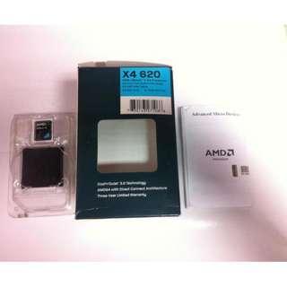 AMD AthlonⅡ X4 620 ~二手良品~CPU