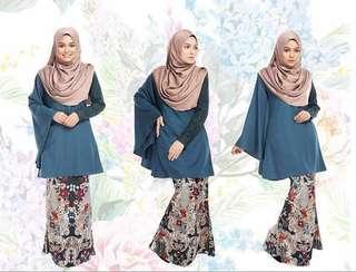 Edora Lace Kaftan Kurung (Fabulous Heejab) #bundlesforyou