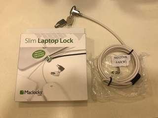 Selling Cheap! Never use. MACLOCK Slim Laptop Lock from Maclocks.com